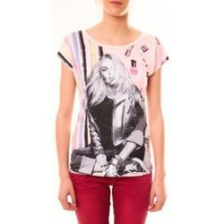Abbigliamento Donna T-shirt maniche corte By La Vitrine Top Clara 1104 Beige Beige