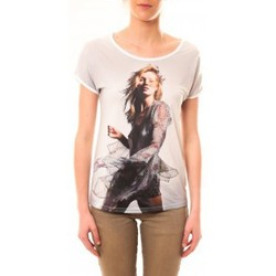 Abbigliamento Donna T-shirt maniche corte By La Vitrine Tee-shirt MC1497 Blanc Bianco