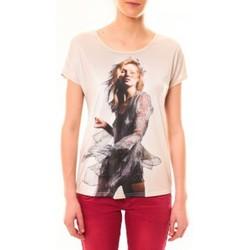 Abbigliamento Donna T-shirt maniche corte By La Vitrine Tee-shirt MC1497 Rose Rosa