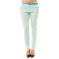 Abbigliamento Donna Pantaloni 5 tasche Dress Code Pantalon Luizaco L705 Vert Verde