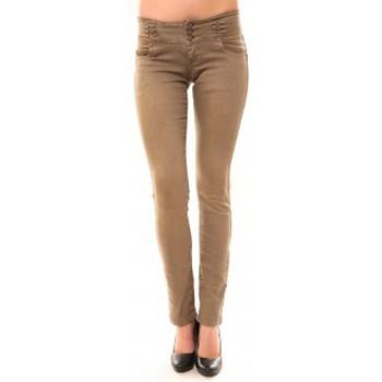 Abbigliamento Donna Jeans dritti Dress Code Jeans Rremixx RX320 Beige Beige
