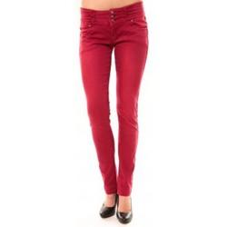 Abbigliamento Donna Jeans dritti Dress Code Jeans Rremixx RX320 Rouge Rosso