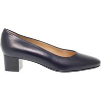 Scarpe Donna Slip on Martina Décolleté  in pelle blu blu