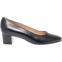 Scarpe Donna Slip on Martina Décolleté  in pelle nero nero