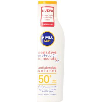 Bellezza Protezione solare Nivea Sun Antialergias Solares Sensitive Spf50+ Leche  200 ml