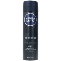 Bellezza Uomo Deodoranti Nivea Men Deep Black Carbon Deo Vaporizzatore  150 ml