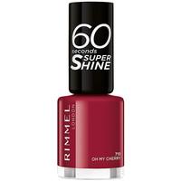 Bellezza Donna Smalti Rimmel London 60 Seconds Super Shine 710-oh My Cherry 8 ml