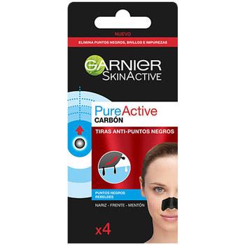 Bellezza Idratanti e nutrienti Garnier Pure Active Carbon Tiras Anti-puntos Negros  4 uds