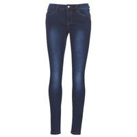Abbigliamento Donna Jeans slim Vero Moda VMSEVEN Blu / Scuro