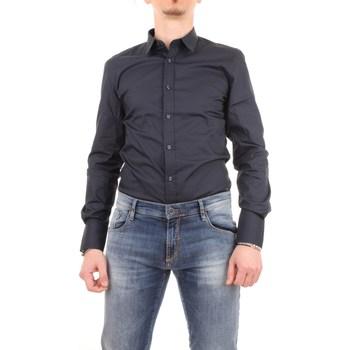 Abbigliamento Uomo Camicie maniche lunghe Antony Morato mmsl00375-fa450001 Blu