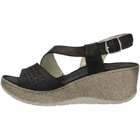 Scarpe Donna Sandali Sintonie AS5001 NERO