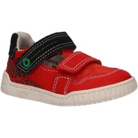 Scarpe Bambino Sneakers basse Kickers 694170-10 WHATSUP Rojo