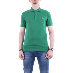 Abbigliamento Uomo Polo maniche corte Lacoste ph4012-maglia-polo Maniche Corte Uomo Cnq-verde Cnq-verde