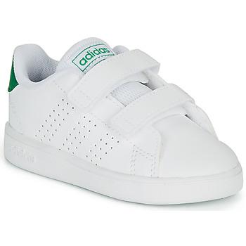 Scarpe Unisex bambino Sneakers basse adidas Originals ADVANTAGE I Bianco