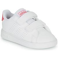 Scarpe Bambina Sneakers basse adidas Originals ADVANTAGE I Bianco