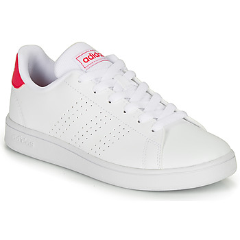 Scarpe Bambina Sneakers basse adidas Originals ADVANTAGE K JU Bianco