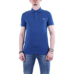 Abbigliamento Uomo Polo maniche corte Lacoste ph4012-maglia-polo Maniche Corte Uomo Q1y-blu-royal Q1y-blu-royal