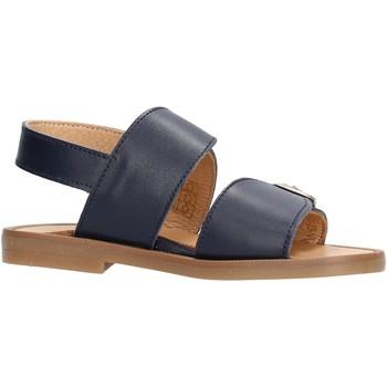 Scarpe Bambino Sandali Platis - Sandalo blu P4001-10 BLU