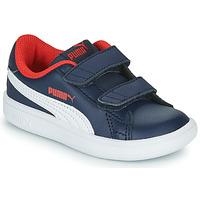 Scarpe Bambino Sneakers basse Puma SMASH Marine