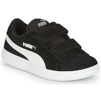 Scarpe Bambino Sneakers basse Puma SMASH V2 SD V Nero