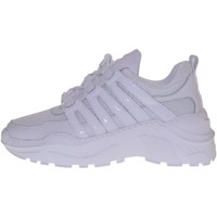 Scarpe Donna Sneakers basse Windsor Smith scarpe donna sneakers con zeppa COREY BIANCO Bianco