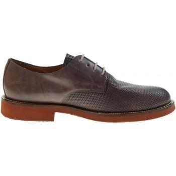 Scarpe Uomo Derby Antica Cuoieria scarpe uomo classiche 20795-S-V87 ICARO STAMPATO T.DI MORO Pelle