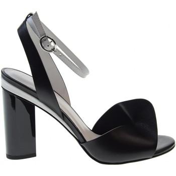 Scarpe Donna Sandali What For scarpe donna sandali con tacco JANICE WFP219022 Pelle