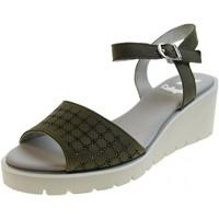 Scarpe Donna Sandali CallagHan scarpa donna sandali con zeppa 24603 CARCIOFO Pelle