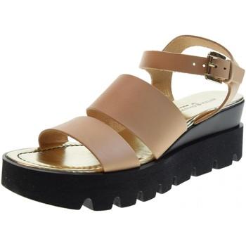 Scarpe Donna Sandali Antica Cuoieria scarpe donna sandali 20866-V-AD8 BEIGE Pelle