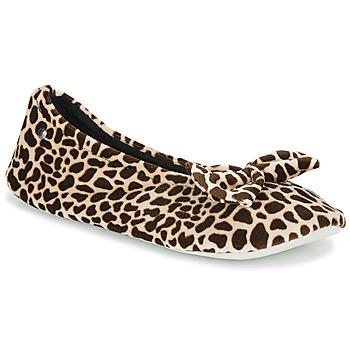 Scarpe Donna Pantofole Isotoner 95991 Marrone