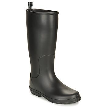 Scarpe Uomo Stivali da pioggia Isotoner 96523 Nero