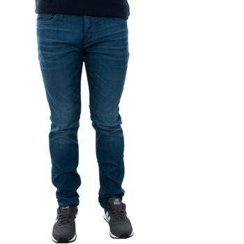 Abbigliamento Uomo Jeans slim Jack & Jones 12143850 JJITIM JJORIGINAL JJ 320 NOOS BLUE DENIM Azul oscuro