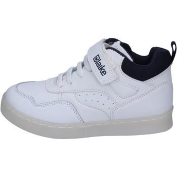 Scarpe Bambino Sneakers alte Blaike sneakers pelle sintetica bianco