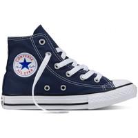 Scarpe Uomo Sneakers alte Converse Chuck taylor all star hi Blu