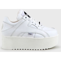 Scarpe Donna Sneakers alte Buffalo 1330-6 Bianco