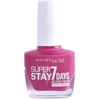 Bellezza Donna Smalti Maybelline Superstay Nail Gel Color 886-fuchsia 10 ml