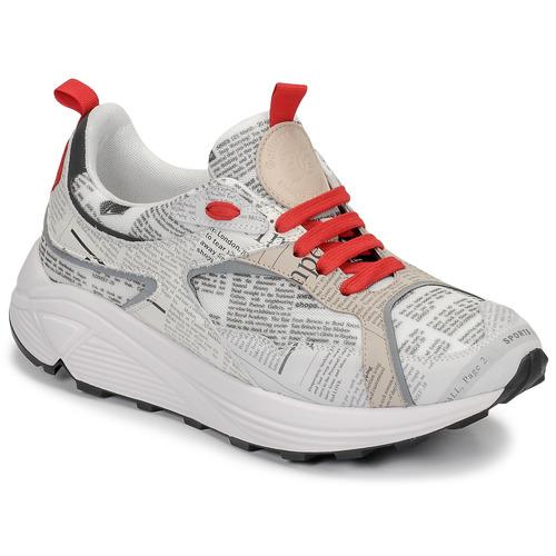 Scarpe Uomo Sneakers basse John Galliano 8516 Grigio