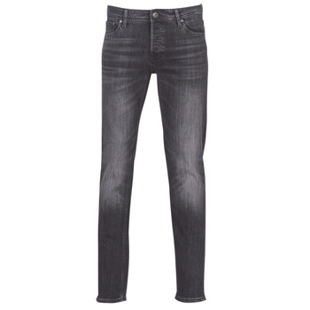 Abbigliamento Uomo Jeans slim Jack & Jones JJIGLENN Nero