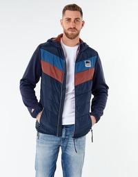 Abbigliamento Uomo Giubbotti Jack & Jones JORJASPER Marine / Rosso