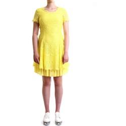 Abbigliamento Donna Abiti corti Silvian Heach CVP19134VE Abito Donna Giallo Giallo