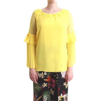 Abbigliamento Donna Top / Blusa Camilla Milano C1160/T02 Giallo