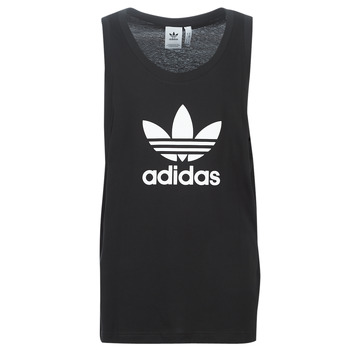 Abbigliamento Uomo Top / T-shirt senza maniche adidas Originals TREFOIL TANK Nero