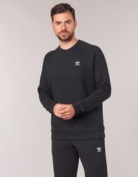 Abbigliamento Uomo Felpe adidas Originals ESSENTIAL CREW Nero