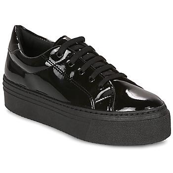 Scarpe Donna Sneakers basse André SODA Nero / Vernis