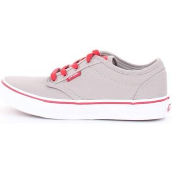 Scarpe Unisex bambino Sneakers basse Vans v3z9ixa-atwood Grey-red