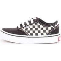 Scarpe Unisex bambino Sneakers basse Vans v3z9ipb-atwood Black