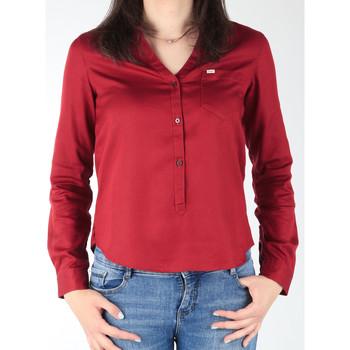 Abbigliamento Donna Camicie Lee L47QLCPR burgundy