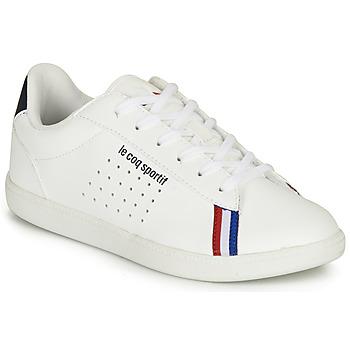 Scarpe Bambino Sneakers basse Le Coq Sportif COURTSTAR GS SPORT BBR Bianco