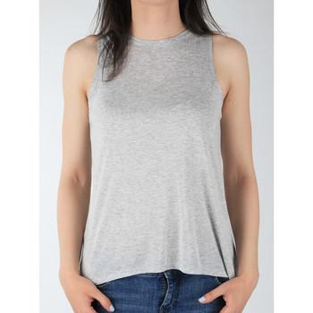 Abbigliamento Donna Top / T-shirt senza maniche Lee Tank L40MRB37 grey