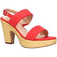 Scarpe Donna Sandali Maria Mare 67452 Rojo